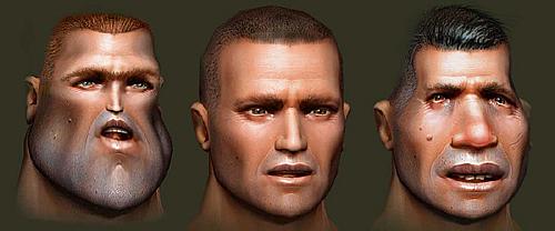 Cutter Slade deformación rostro - Versión PC